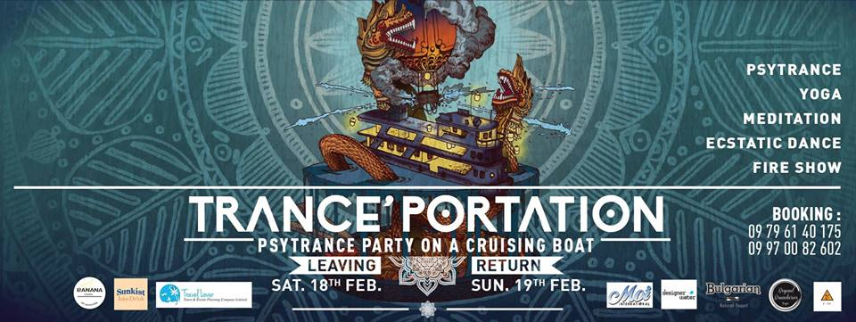 First Myanmar Psytrance Boat Party